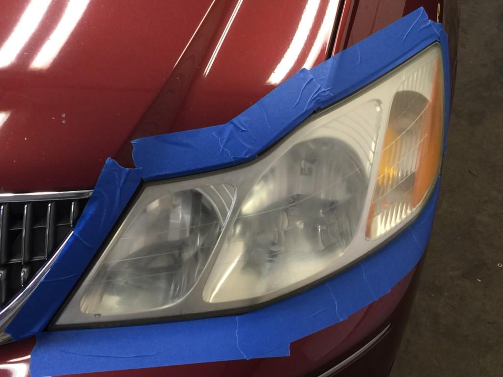 Headlight Restoration - Toyota | Crystal Car Wash